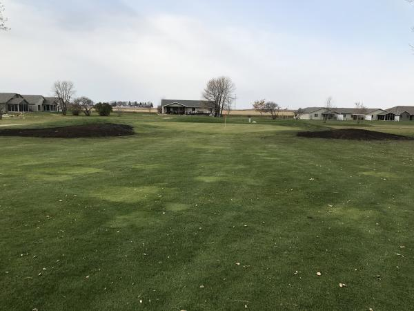 #16 Approach with New Mounding 2018