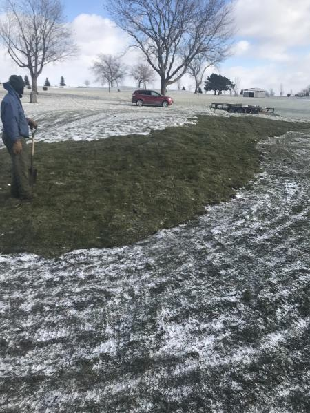 #16 New Mounding Last of the Sod 2018